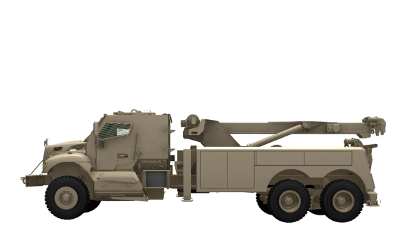 Navistar Defense Navistar Defense Maxxpro Mrap Recovery